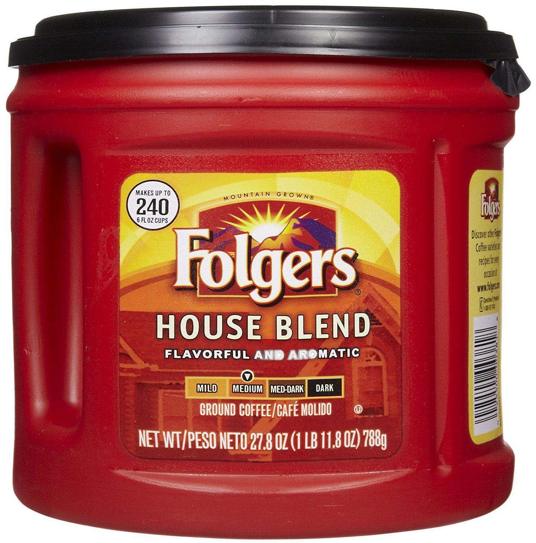 Folgers house blend medium ground coffee click image