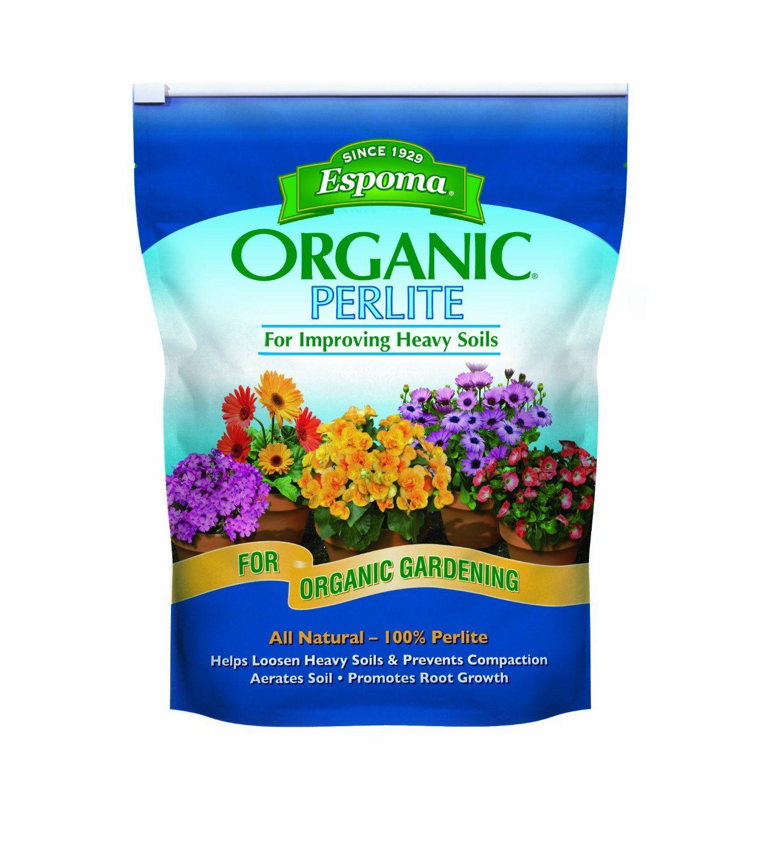 Espoma Pr8 8 Quart Organic Perlite Organic Gardening Tips
