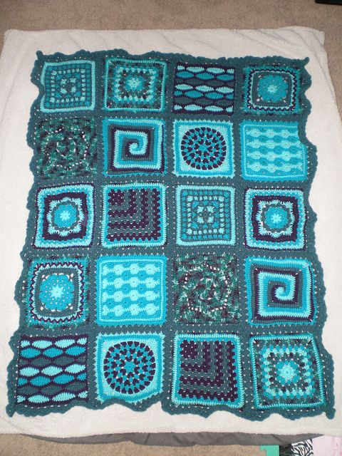 Ravelry: Project Gallery for Sampler Afghan pattern by Marianne ...