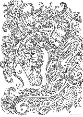 Animals Archives Favoreads Coloring Club Printable Coloring