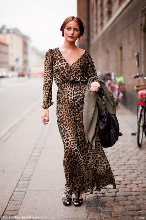 9938cea904 Leopard Print Maxi Dress