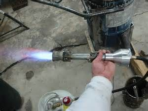 Homemade Pipe Burner Forced Air Bing Images Propane