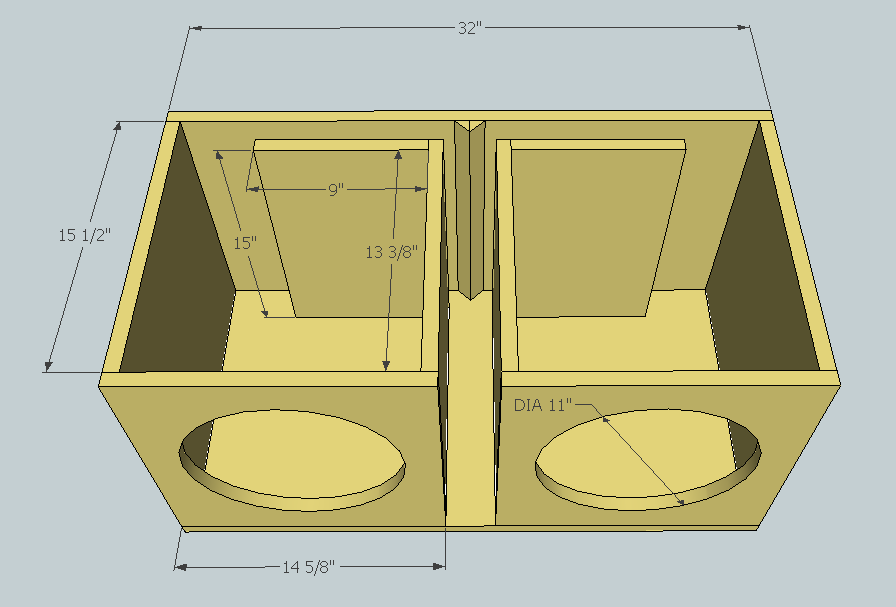 Pin By Simon Nunez On Box 2 Subwoofer Box Design Subwoofer Box Diy Subwoofer