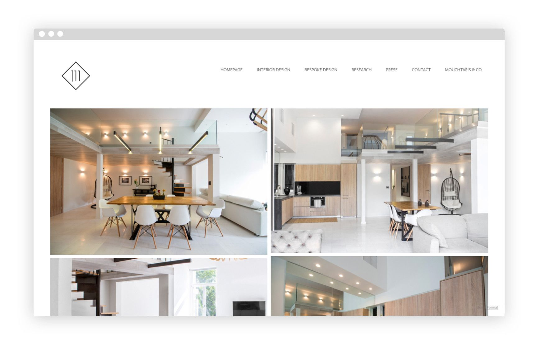 10 Carefully Curated Interior Design Portfolios Interior Design