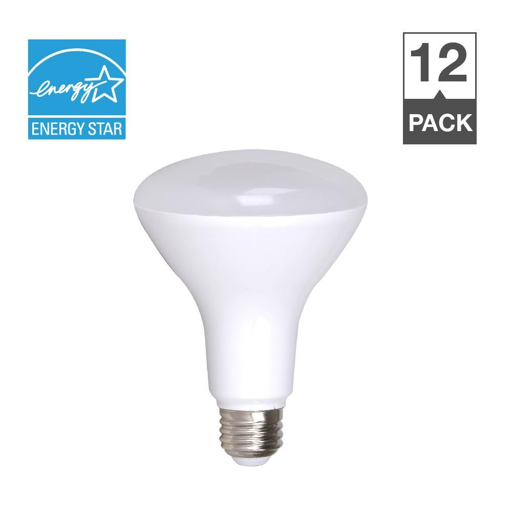 100w Equivalent Soft White 2700k Dimmable 25 000 Hour Br40 Led Light Bulb 12 Pack Light Bulb Dimmable Led Lights Bulb
