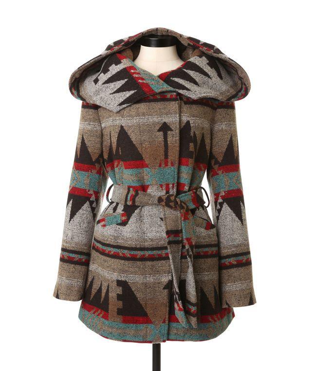We love this pattern! → Southwest Coat | KISMET | winter is ...