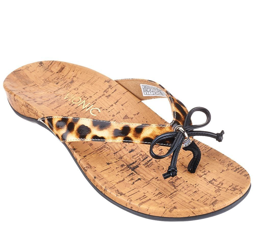 20cd7c91132db Amazon.com: Vionic by Orthaheel Cassie Orthotic Thong Sandals ...