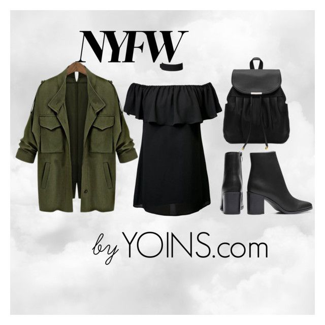 """""""NYFW by YOINS.COM"""" by elaandco ❤ liked on Polyvore"""