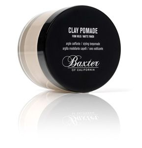 Baxter of California Clay Pomade--Perfect matte finish and hold for short cuts!