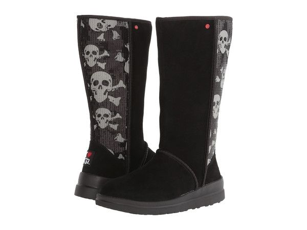 fd9d1258729 UGG Black Kisses Skull and Crossbones Sequin Tall Boots | Womens ...