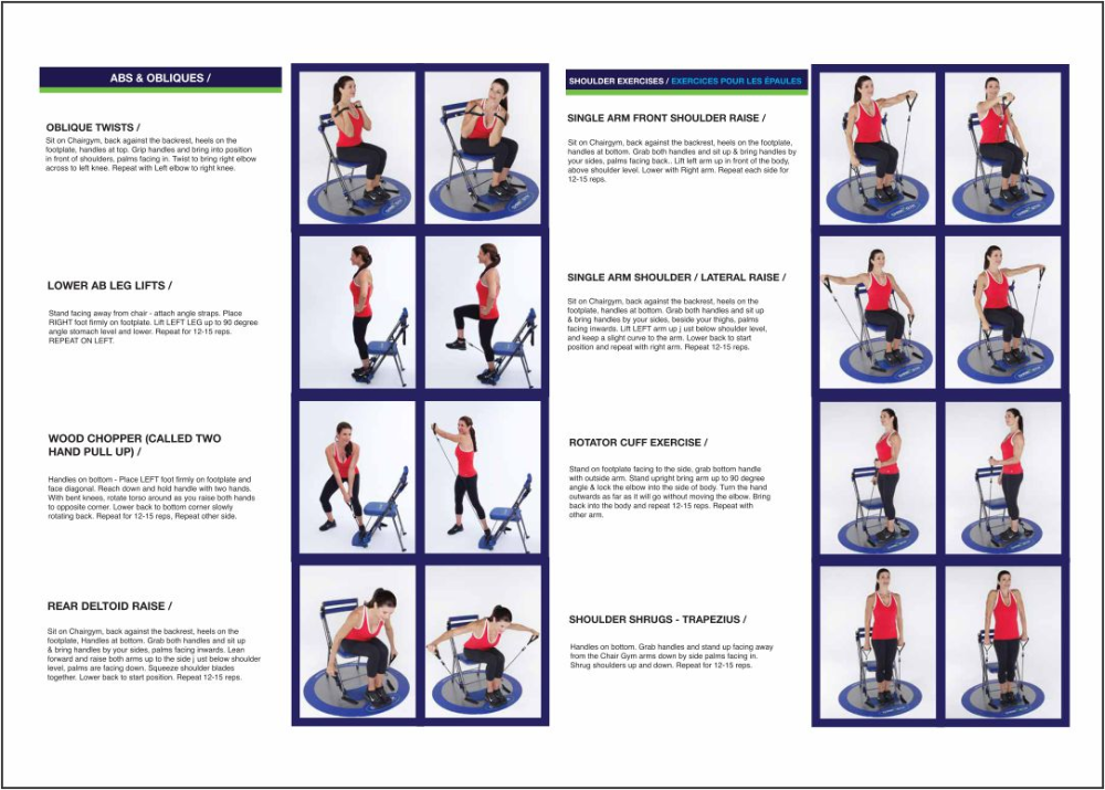 Chair Exercise Bands Exercises Chart In 2020 Workout Chart Rotator Cuff Exercises Band Workout