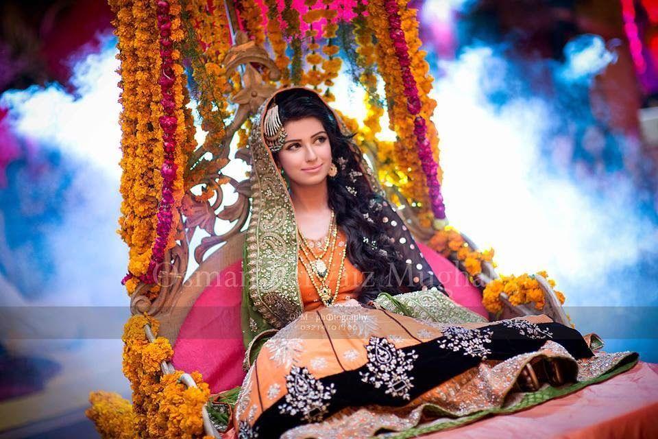 Mehndi Makeup Bridal : Mariam khawaja bridal makeup ideas new for
