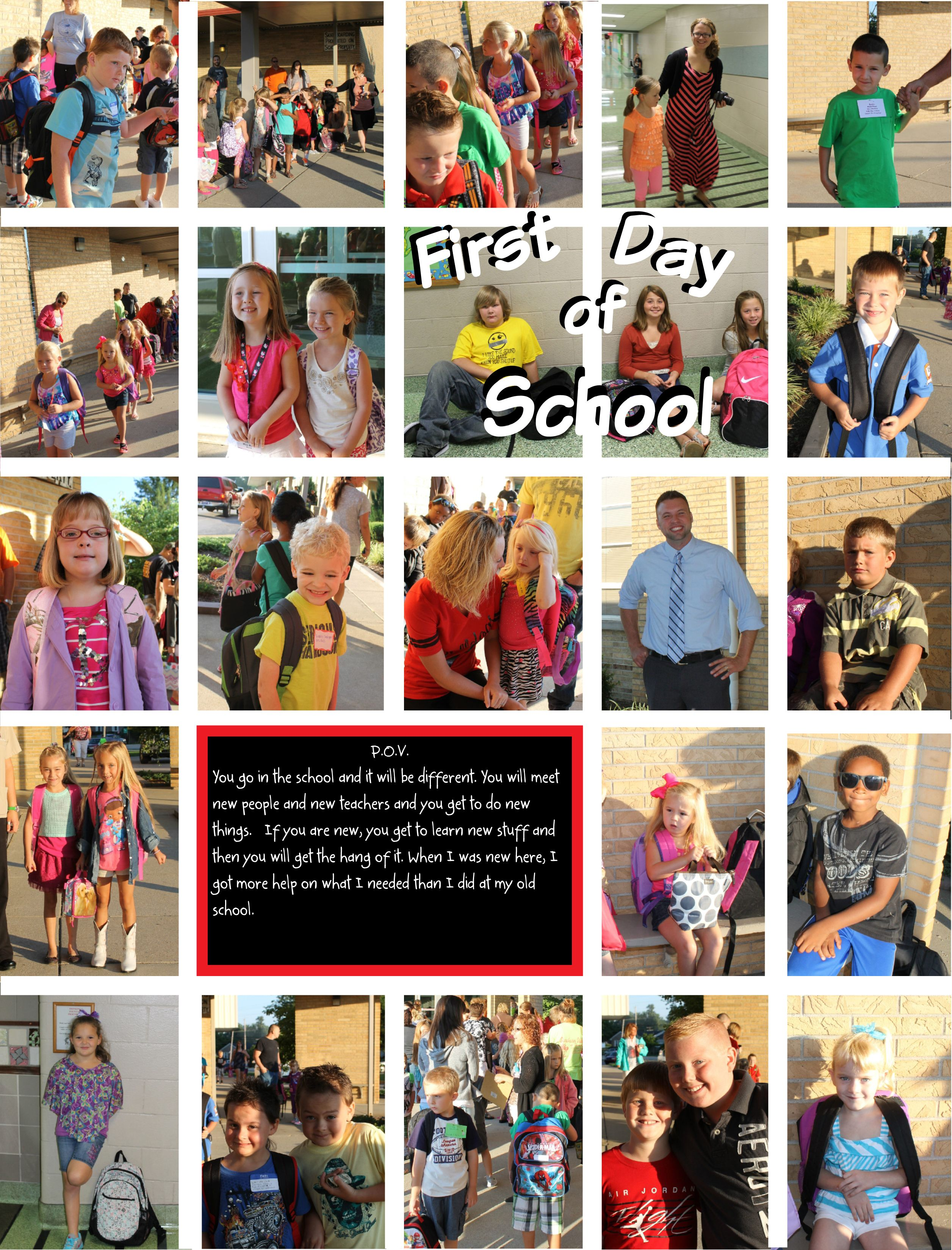 Elementary school scrapbook ideas - Yearbook Pages Ideas Google Search