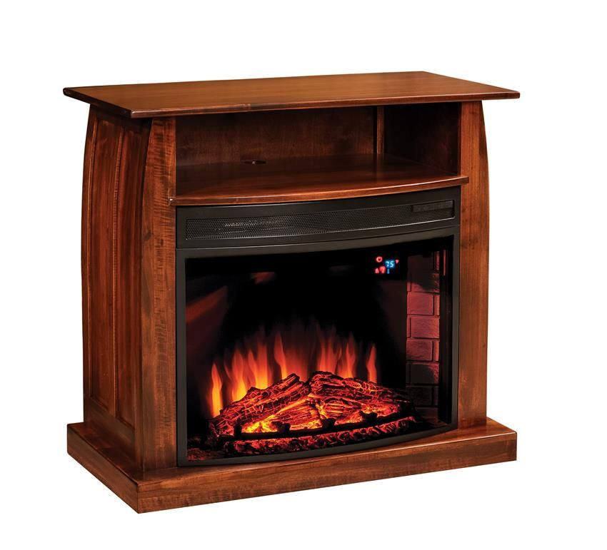American Made Shaker 38 Electric Fireplace Tv Stand Fireplace