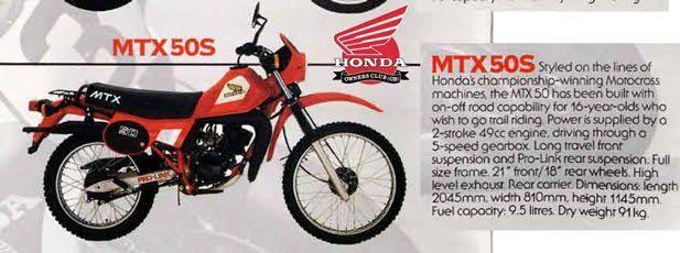honda mtx 50 сопротивление