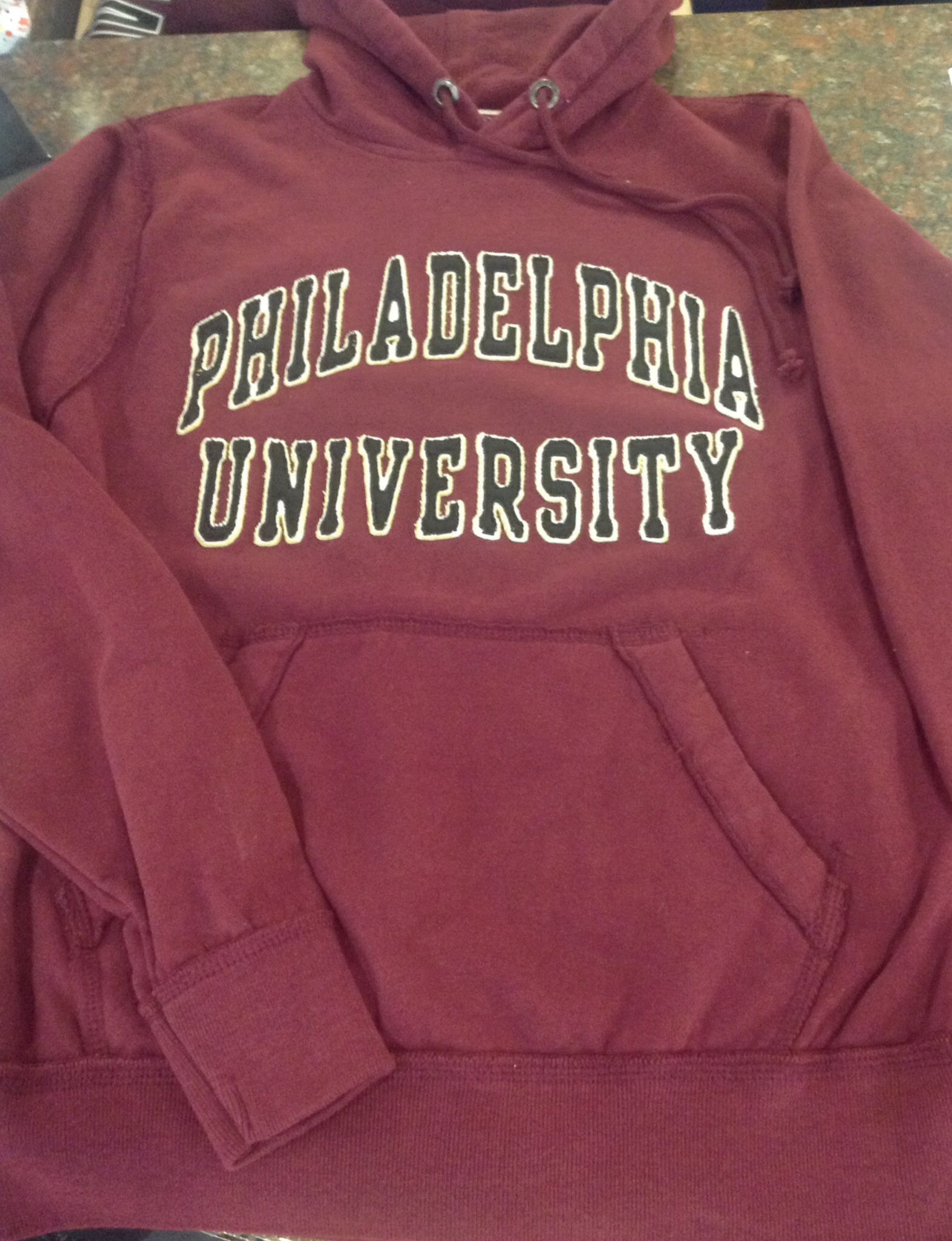 official photos 3805b 9a115 $48.95 Philadelphia University Maroon league hoodie | PhilaU ...