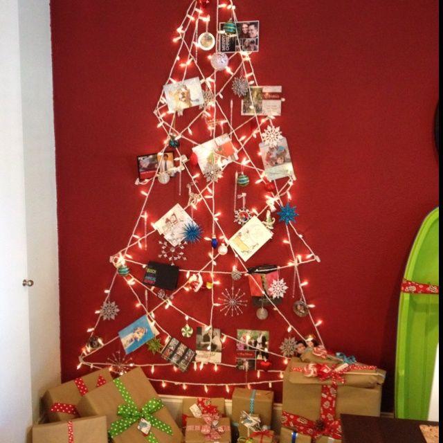 alternative christmas trees | Alternative Christmas Tree / Card Holder | Crafts