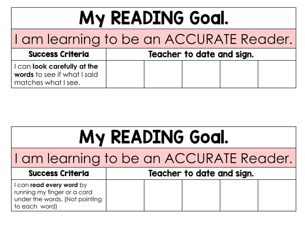 Reading Goals For Individual Children Posters And Tracking Forms Teaching For The Love Of It Printable Teaching Resources Reading Goals Reading Classroom [ 768 x 1024 Pixel ]