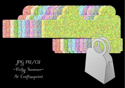 Spring Confetti Small Handbag Gift Bag