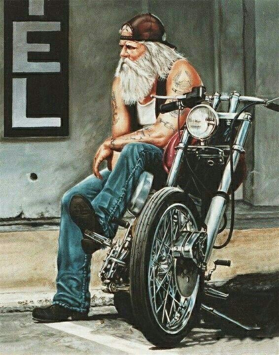 ccce332f4 Harley Davidson Biker Old School | old school biker shit | David ...