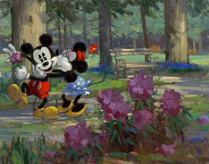 Disney Limited Collection | A Flower for Minnie | David Tutwiler