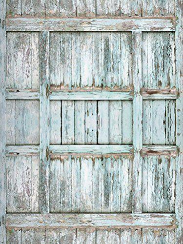 Yelewen 5x7ft Vintage Barn Wooden Door Thin Vinyl Customized Digital Printed Photography Backdrop Prop Photo Back Backdrops Photo Booth Backdrop Old Barn Doors