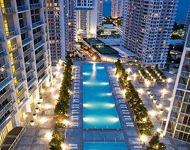 The 300 Foot Infinity Pool At Viceroy Miami Hotel Is Longest In