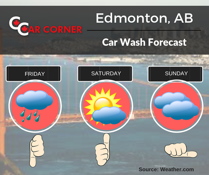 HappyFriday CarWash CarWashEdmonton CarWashForecast