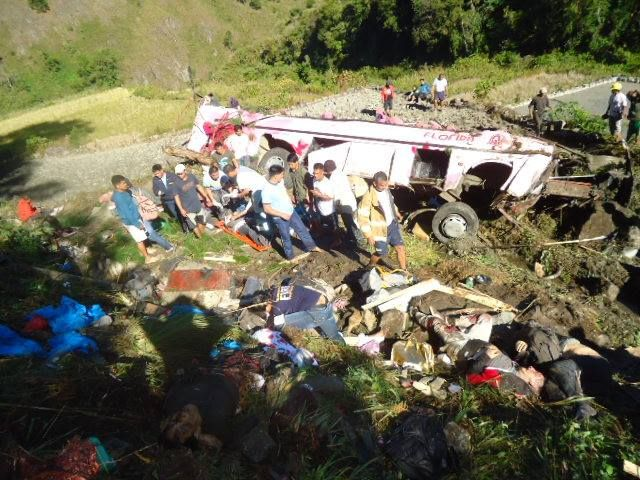 14 Dead In Mountain Province Bus Accident Including Comedian Tado