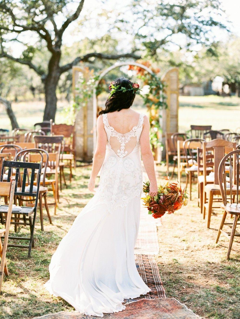 Autumn hill country wedding by the nouveau romantics