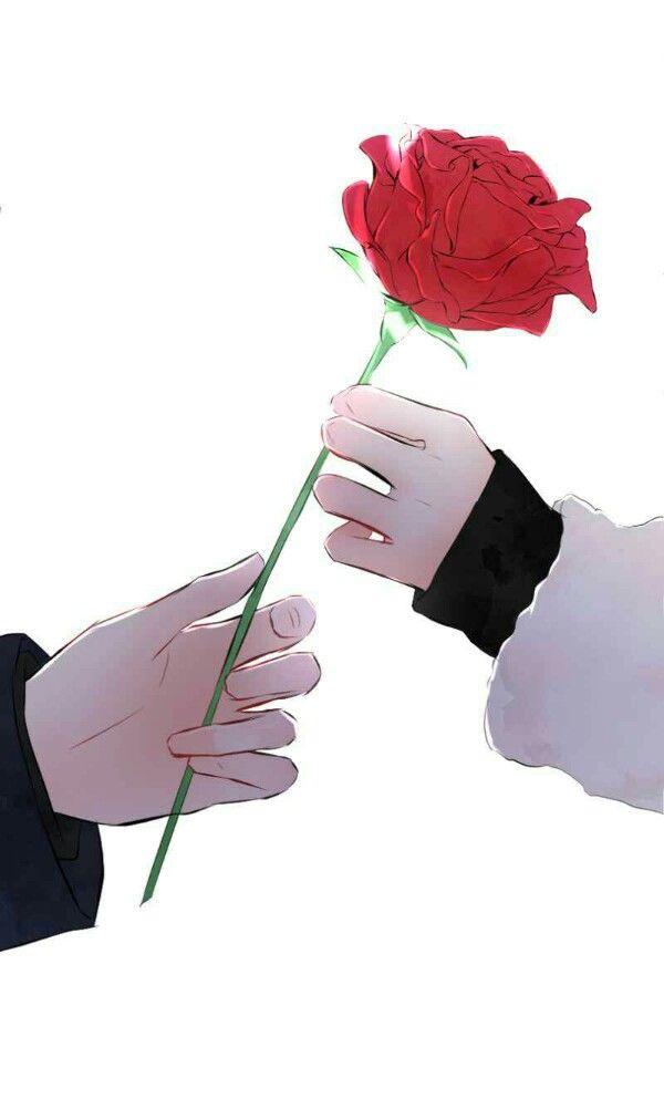 Pin Oleh Tanmax Xi Di Love Doesn T Talk Seni Bunga Wallpaper Anime Poster Bunga