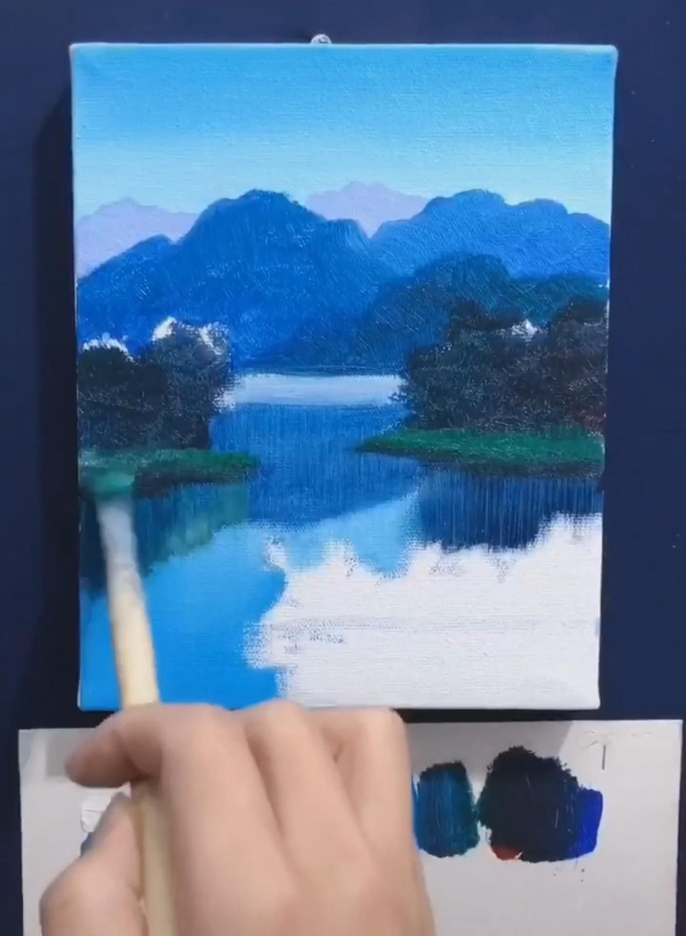 Let's learn to draw together. innovative Oil painting, # DIY Oil painting # Oil painting#Nature -   - #diy #Draw #innovative #learn #Lets #oil #painting #paintingNature #zeichnung