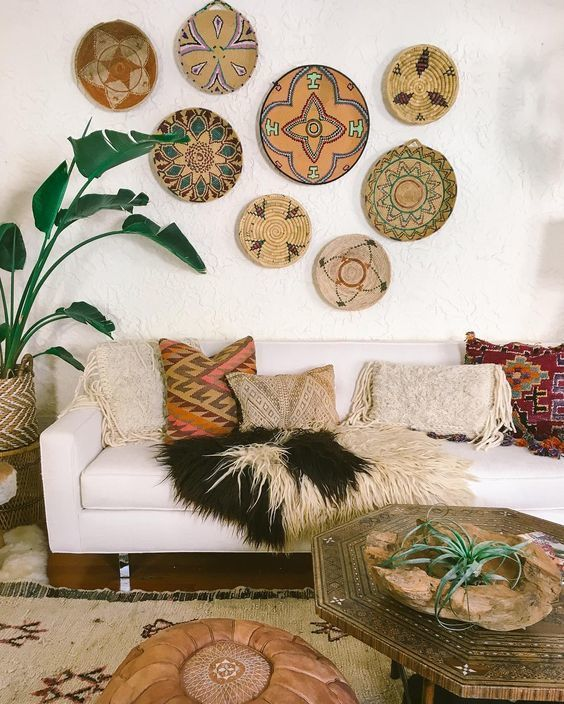Eye Candy 10 Super Cozy Southwest Inspired Living Rooms Chic Living Room Decor Bohemian Living Room Decor Chic Living Room #southwestern #style #living #room #furniture