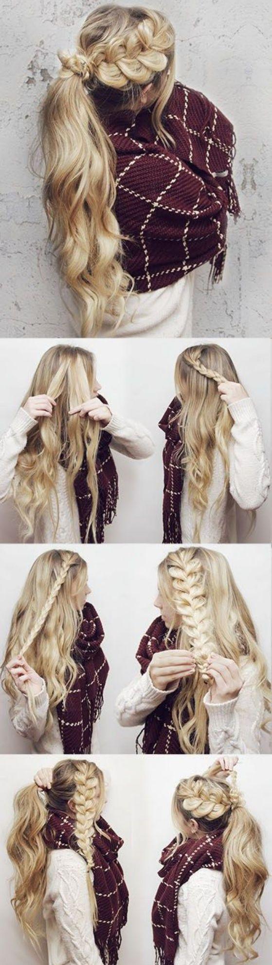 Tipos de peinados para pelo largo que te harán ver bellisima hair