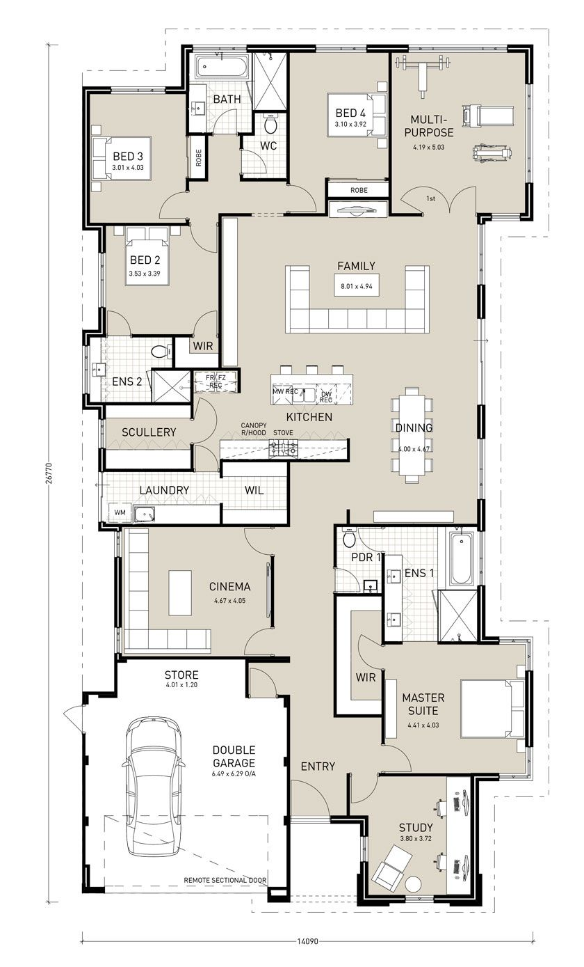 Pin By Giorgia On Plantas Baixa Dream House Plans New House Plans Home Design Floor Plans