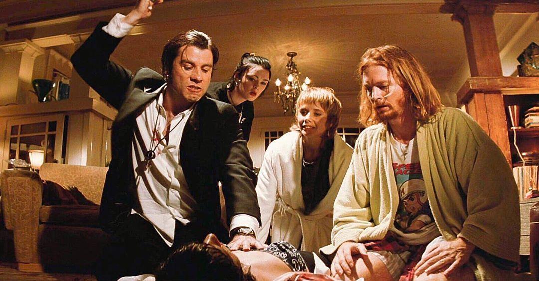 Pulp Fiction 1994 Directo Pulp Fiction Cinematographer Quentin Tarantino