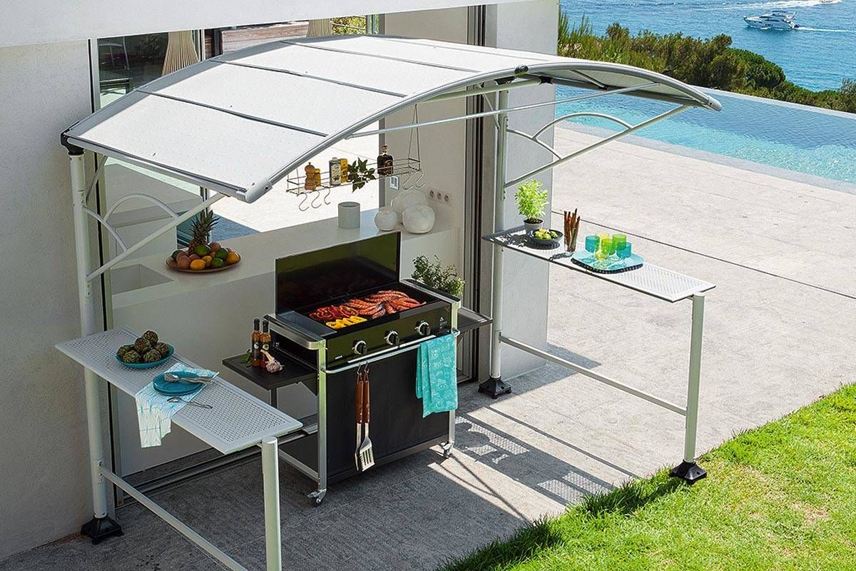 Abri Barbecue Acier Abri Barbecue Hesperide Abris Barbecue Cuisine Exterieur Mobilier De Jardin Design