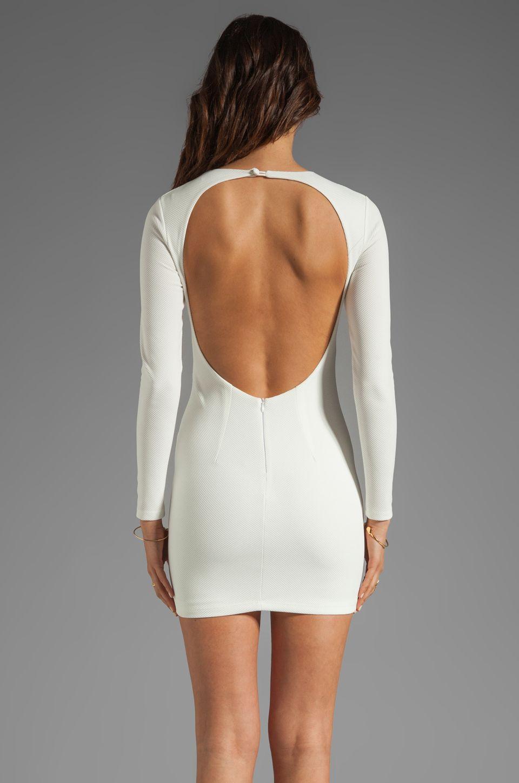 Backless dress estella long sleeve backless dress backless