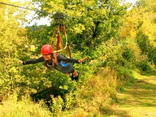 13 Insane Zip Lines For Thrill Seeking Families Ziplining Midwest Family Vacations Thrill Seeking