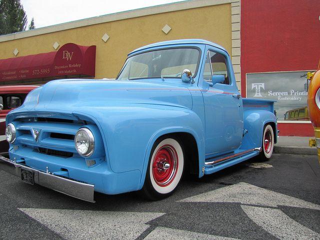 50s Ford Truck >> 1953 Ford Pickup Vintage Pickup Trucks Vintage Trucks Trucks