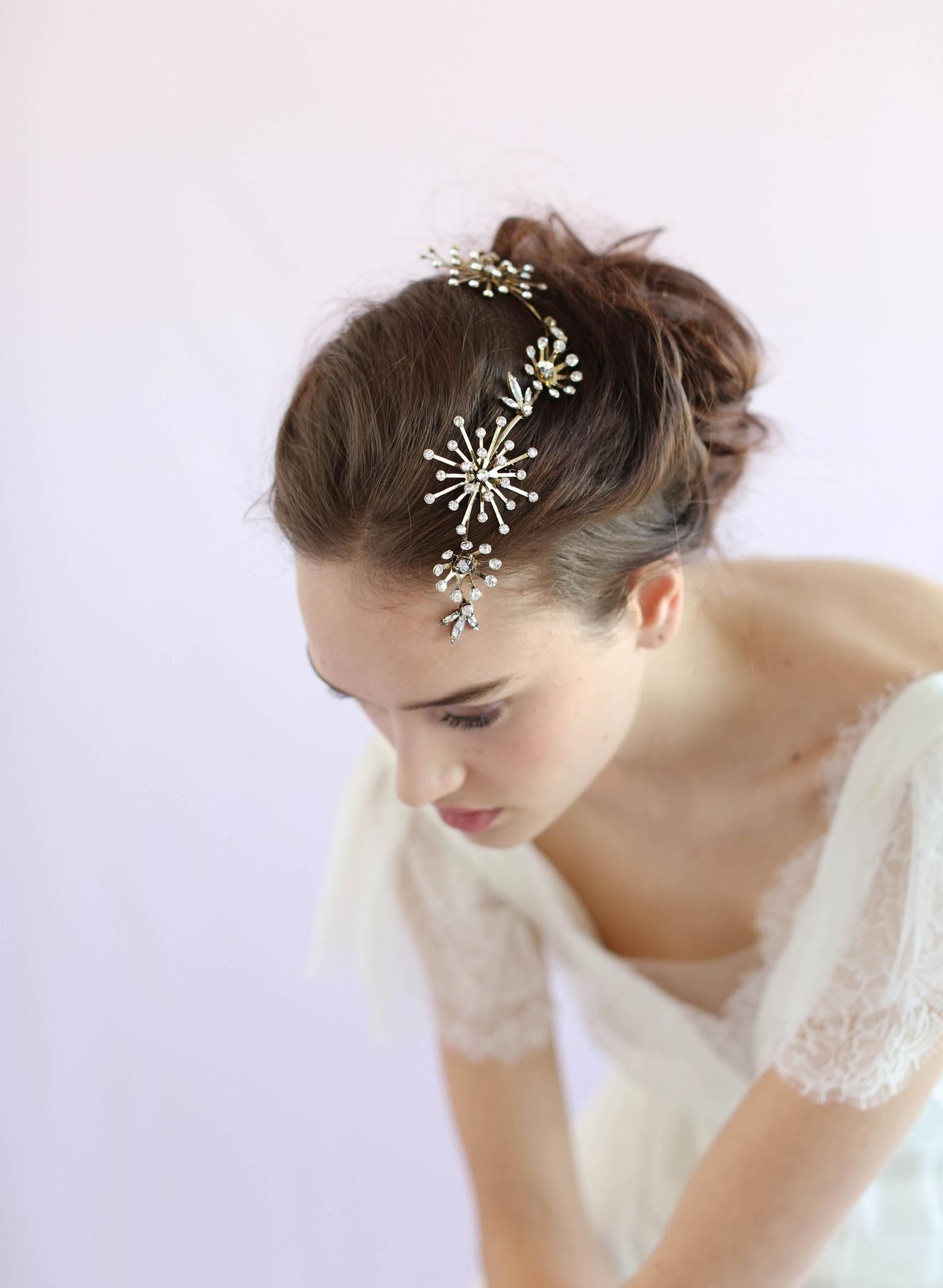 constellation crystal headpiece - style #648 | beauty department