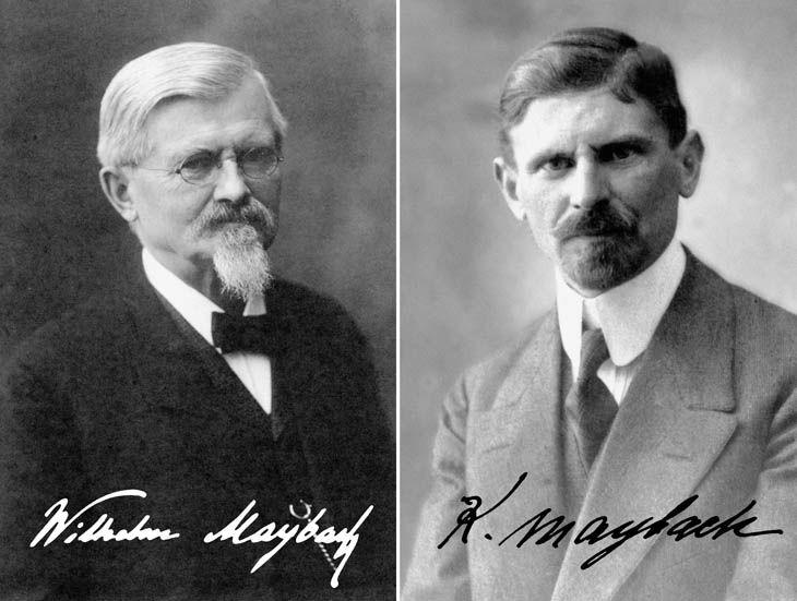 William y Karl Mayback