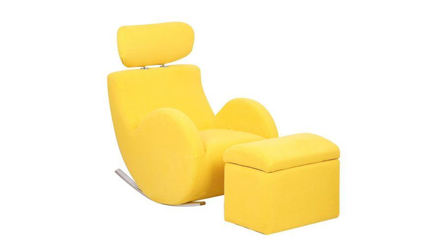 The Bold And Comfortable Lounge Chair That Will Brighten Up Your Kids Room.