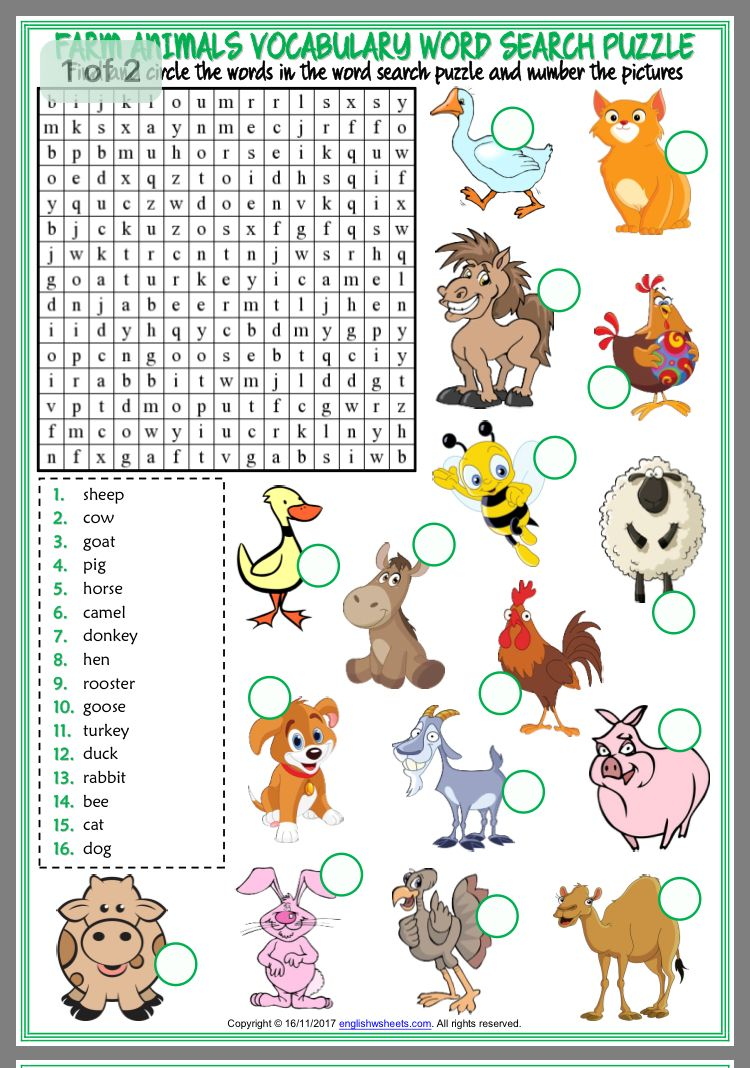 Pin by Mandy Wong on Kids activities Word puzzles for