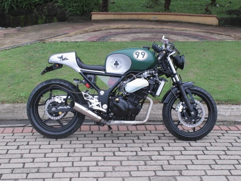 This Used To Be A Ninja 250 Cafe Racers Kawasaki Cafe Racer