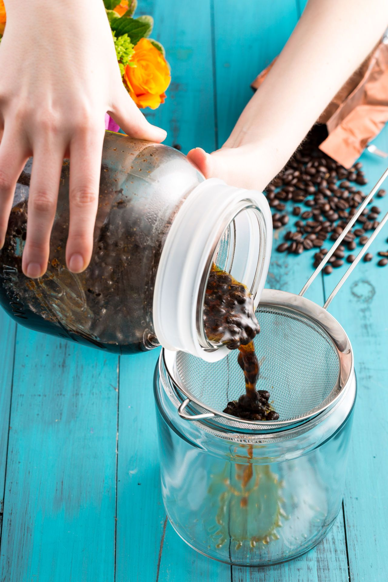 Hands down the easiest way to make iced coffee how to