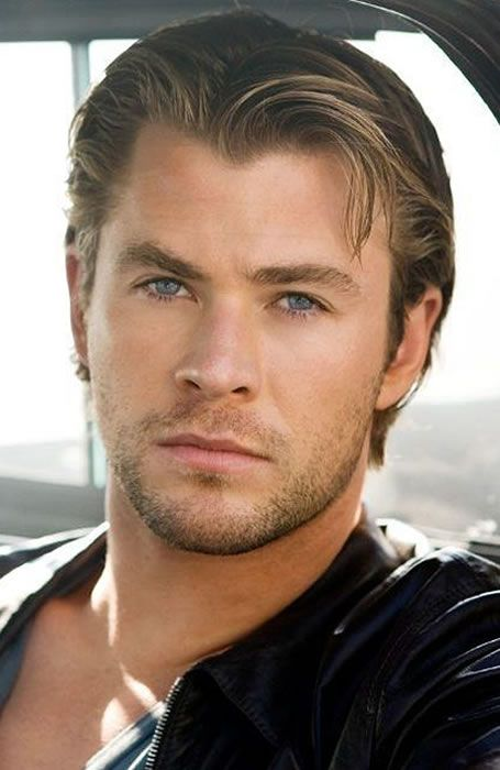 Chris Hemsworth Slicked Back Hair Hair Ideas Chris