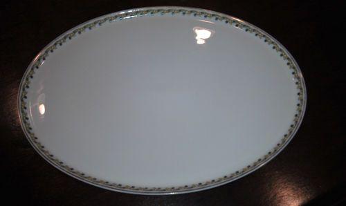 Vintage French Haviland Limoges Platter with gold trim and leaf pattern  $15.00