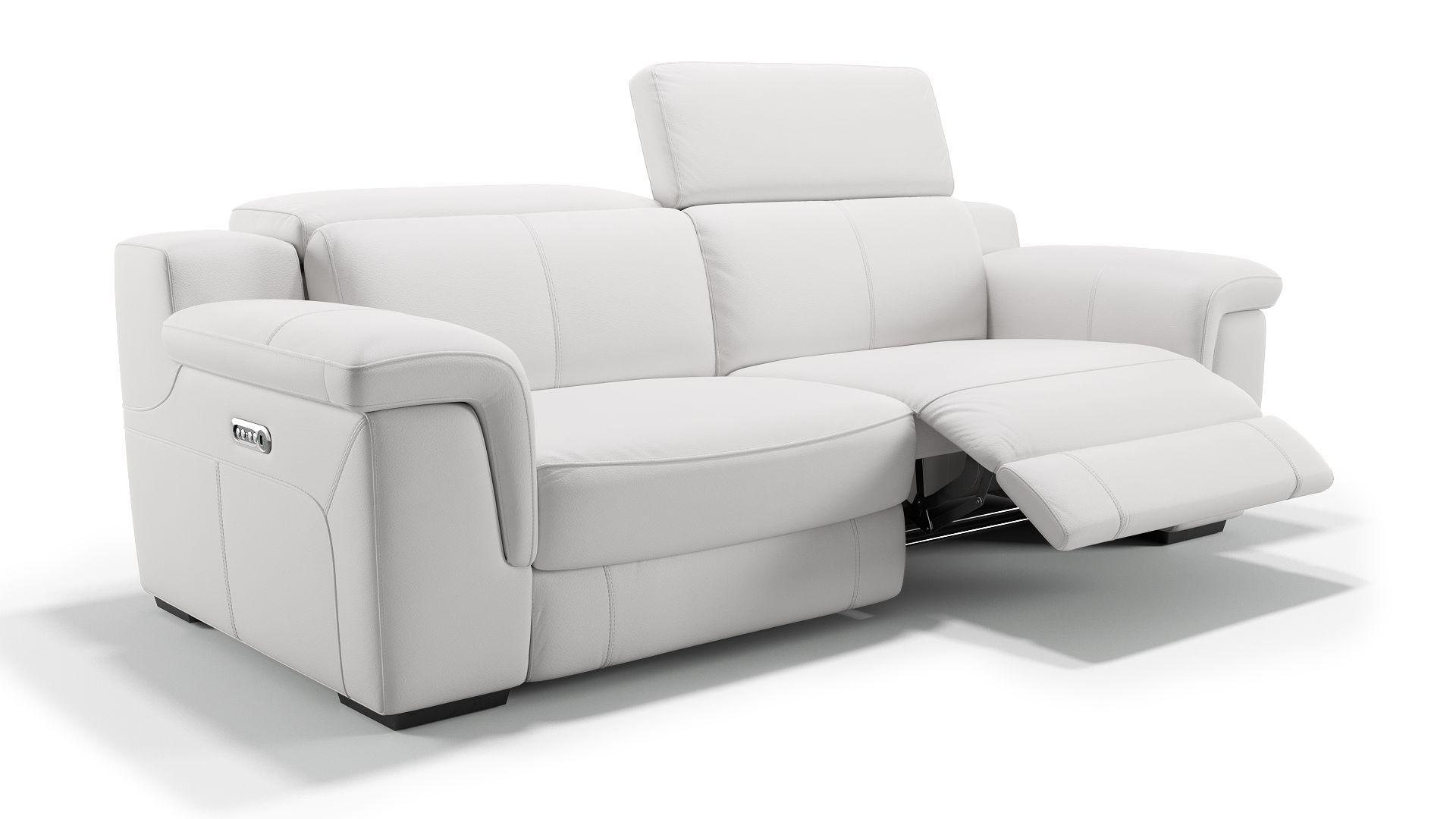 Entdecken Sie Das Hubsche Funktionssofa Stilo Bei Sofanella Die Wunderschone Ledercouch Ist Ein Relaxsofa Das Elektrisch Verstellbar Is Ledercouch Couch Sofa
