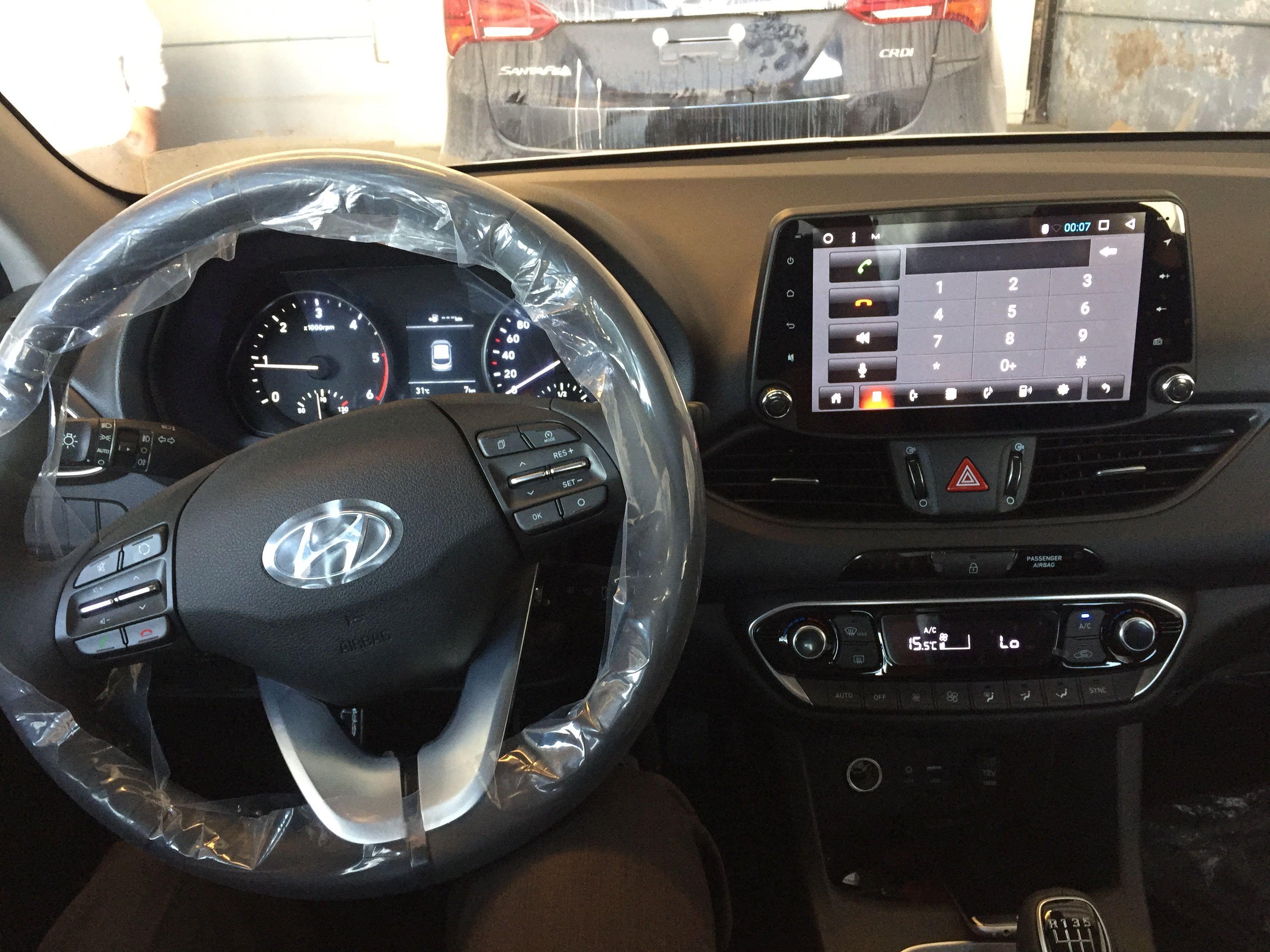hyundai i30 2017 car audio video infotainment system. Black Bedroom Furniture Sets. Home Design Ideas